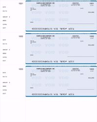 Picture of QuickBooks Personal Checks